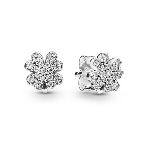 PANDORA Radiant Clovers Stud Earrings 297944CZ
