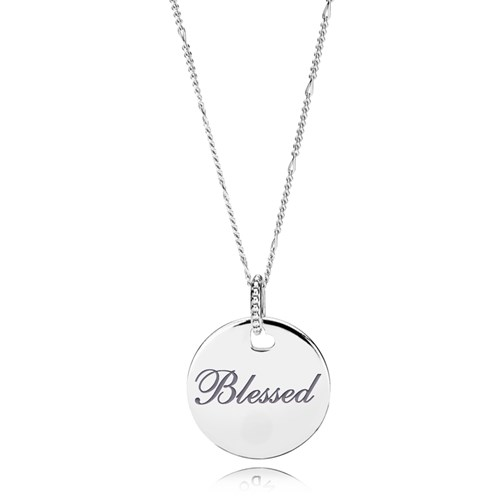 PANDORA Blessed Disc Necklace ENG397122_4-60