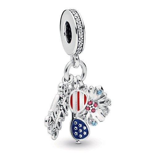 Pandora American Icons Dangle Charm 798020CZMX