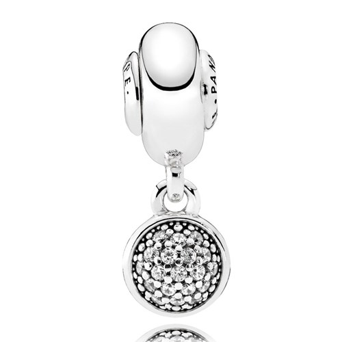 PANDORA ESSENCE HOPE, Clear CZ Dangle Charm