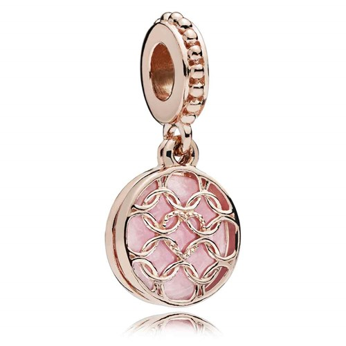 PANDORA Rose™ Pattern of Love Dangle Charm 787040EN153