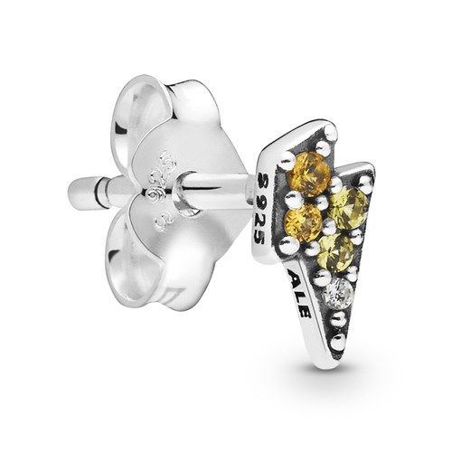 Pandora My Powerful Light Single Stud Earring 298381NBYMX