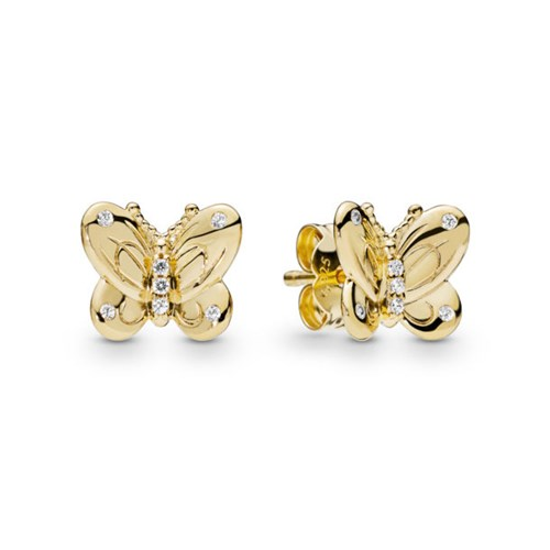 PANDORA Shine™ Decorative Butterfly Stud Earrings 267921CZ