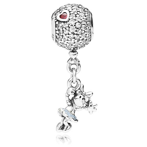 PANDORA Disney, Floating Minnie Dangle Charm 797171CZ