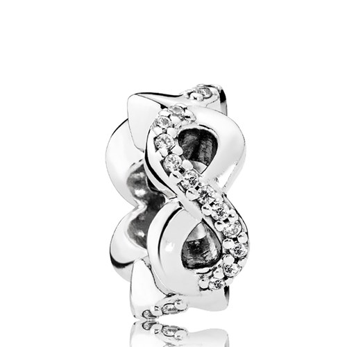 PANDORA Infinite Love, Clear CZ Spacer