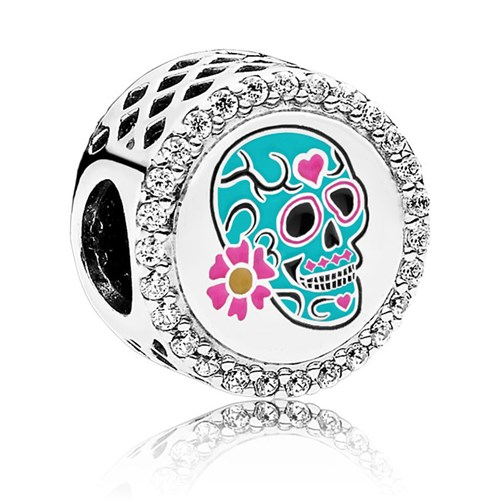 PANDORA Day of the Dead Charm ENG792016CZ-6633