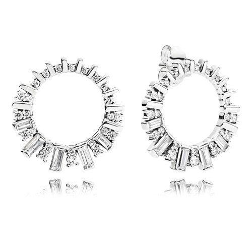 PANDORA Glacial Beauty Earrings 297545CZ