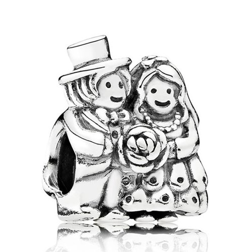 PANDORA Mr. & Mrs. Wedding Charm
