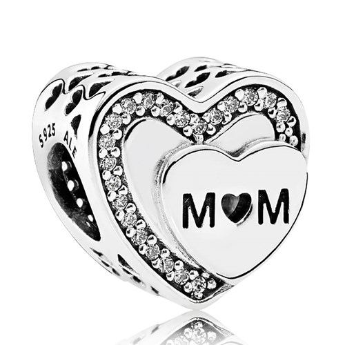 PANDORA Tribute to Mom Charm