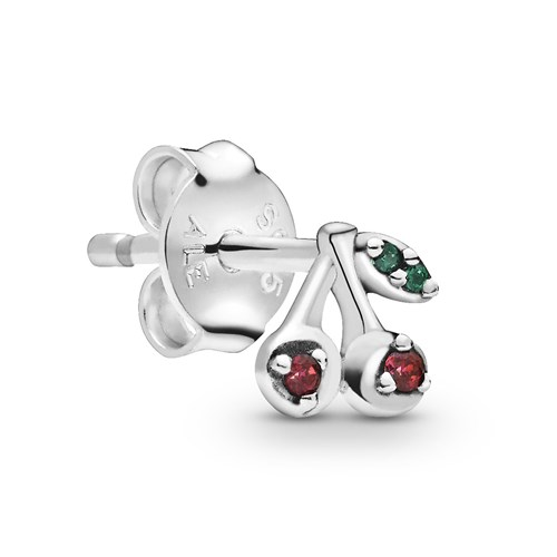 Pandora My Cherry Single Stud Earring 298384NCC