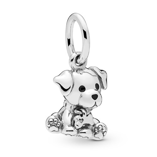 PANDORA Labrador Puppy Dangle Charm 798009EN16