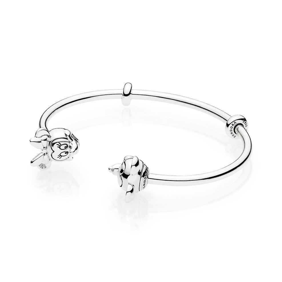 Pandora Disney Mickey Minnie Open Bangle