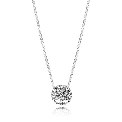 PANDORA Tree of Life Necklace 397780CZ-45
