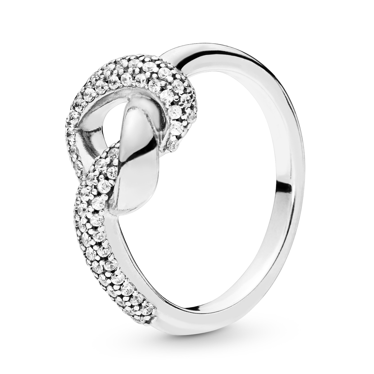 8fc4fd672 ... PANDORA Knotted Heart Ring 198086CZ ...