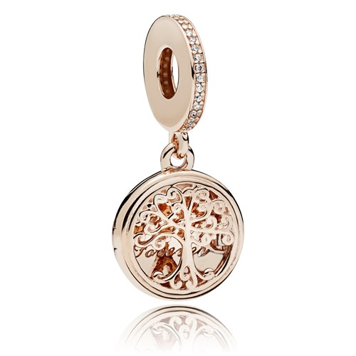 PANDORA Rose™ Family Roots Charm 781988CZ