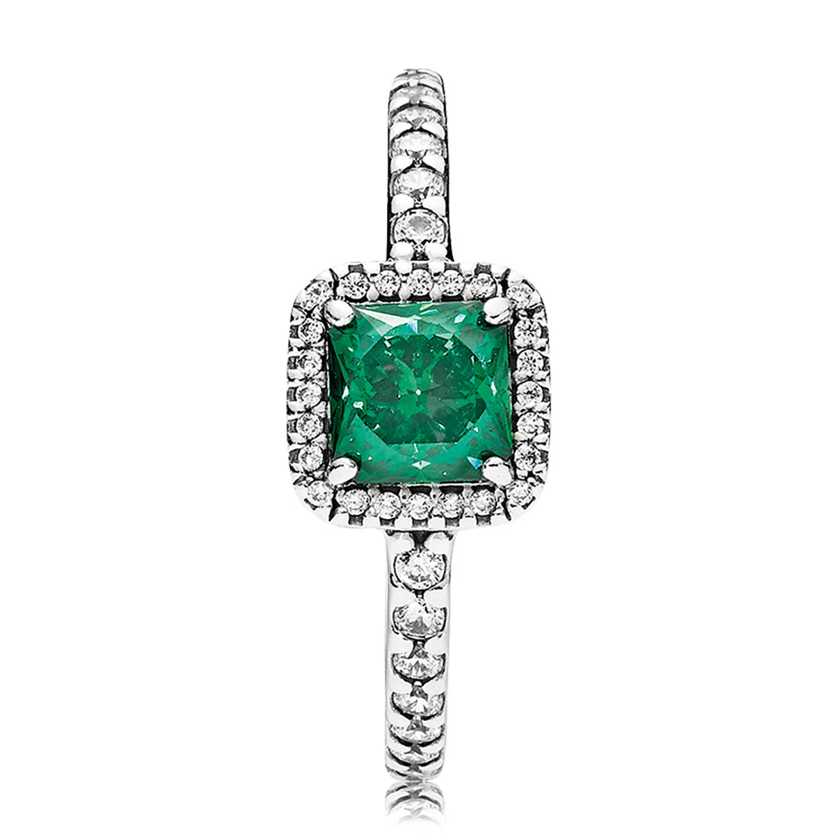 01b63e5f2 ... coupon pandora timeless elegance green ring 0b10b 8dfe2