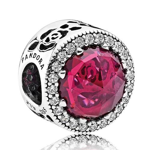 Pandora Disney Belle S Radiant Rose Charm Pancharmbracelets Com