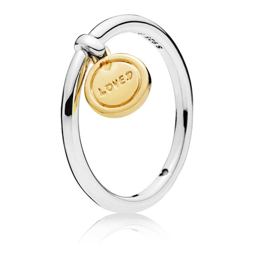 PANDORA Medallion of Love Ring 167823
