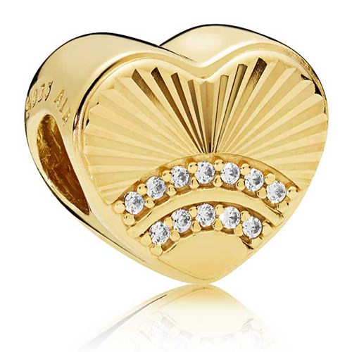 PANDORA Shine™ Fan of Love Charm 767288CZ