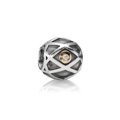 PANDORA Web with Diamond Charm RETIRED- ONLY 1 LEFT! 790164D