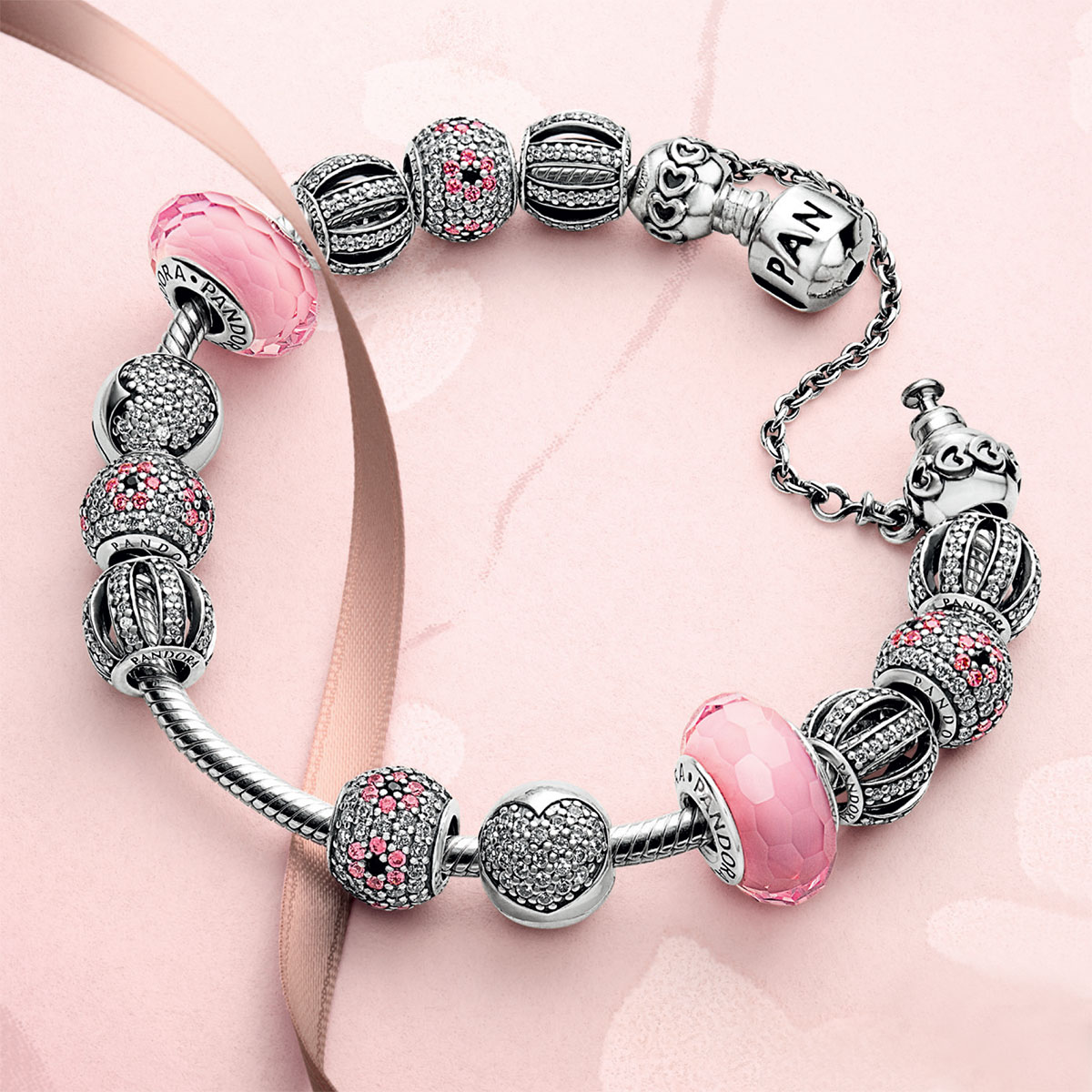 Pandora Love Connection Safety Chain