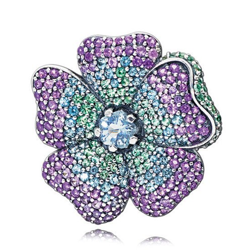 PANDORA Glorious Bloom Brooch