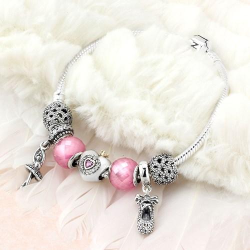 Pandora Prima Ballerina Charm Bracelet 1261