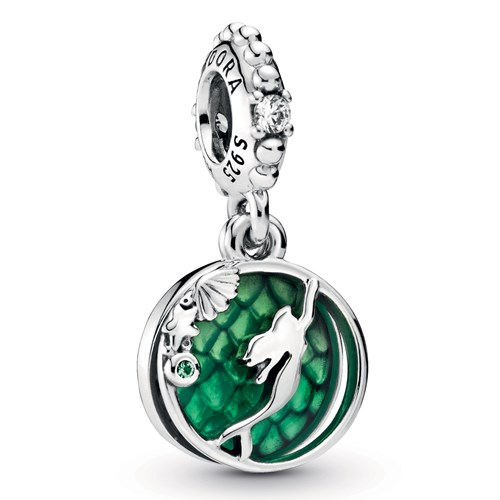 Pandora Disney Ariel Dangle Charm 798231CZ