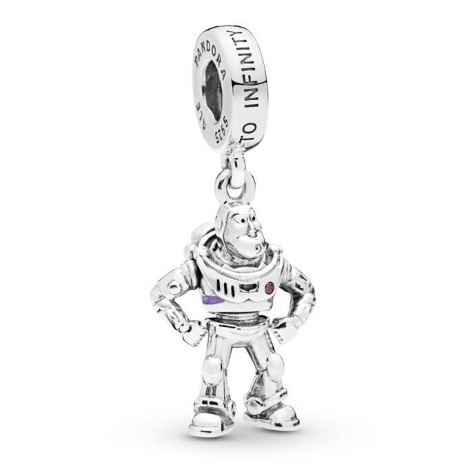 de2ae579a Pandora Disney Pixar, Toy Story, Buzz Lightyear Dangle Charm 798042CZR ...