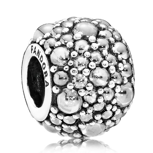 PANDORA Shimmering Droplets Clear CZ Charm