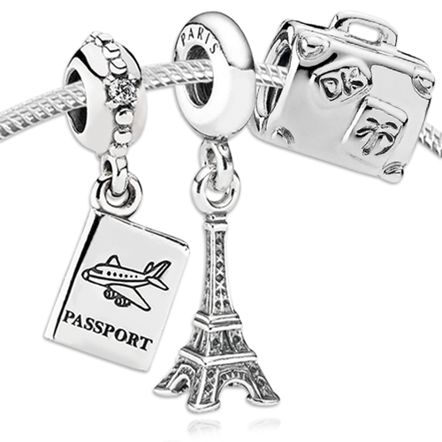 PANDORA European Dreams Charm Set