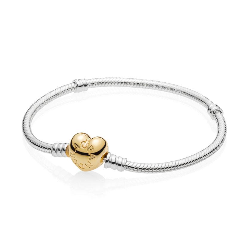 19cca20ff ... PANDORA Shine™ Moments Silver Heart Bracelet 560719