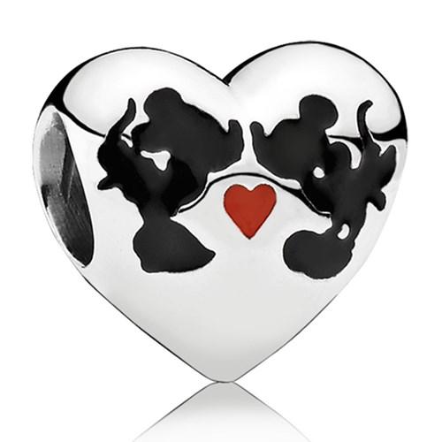 charms pandora disney cuore