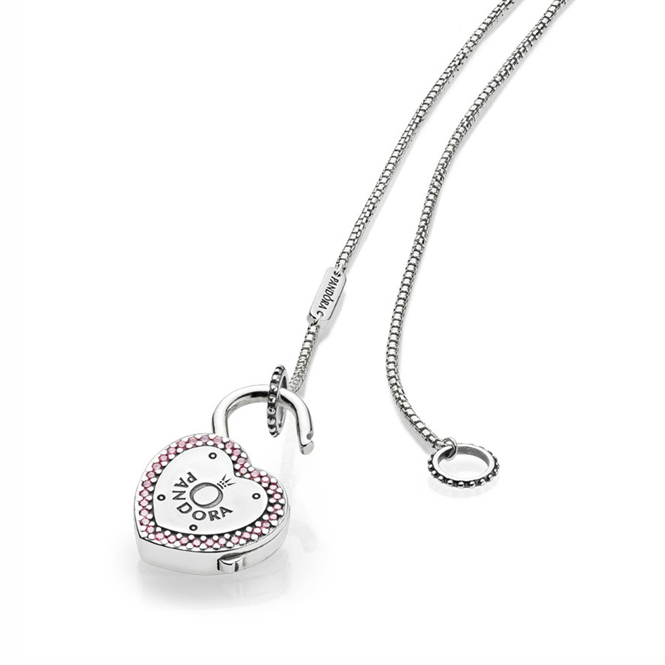 Pandora lock your promise necklace pancharmbracelets aloadofball Gallery