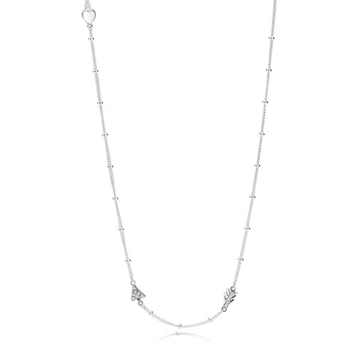 PANDORA Sparkling Arrow Necklace 397795CZ