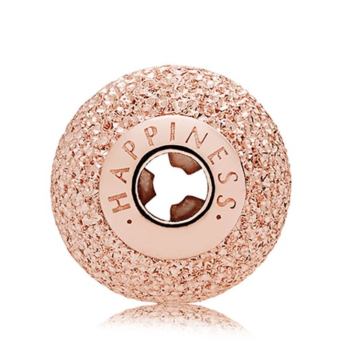 PANDORA ESSENCE Rose Gold HAPPINESS Charm