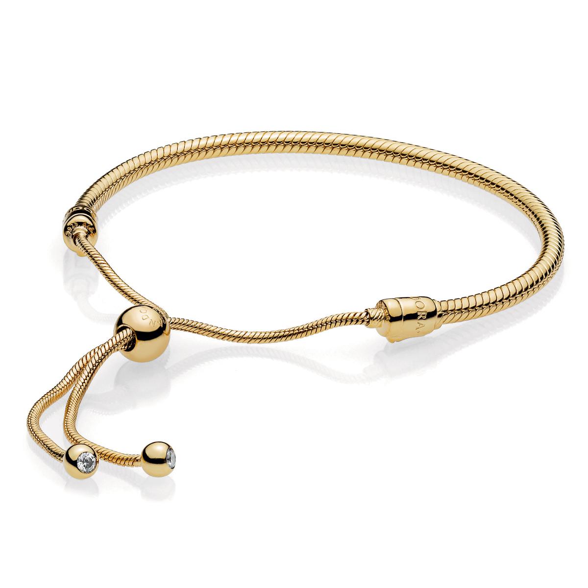 Pandora Shine Sliding Charm Bracelet