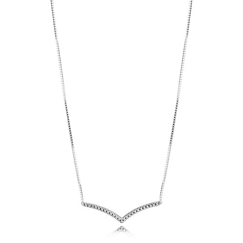 PANDORA Shimmering Wishes Necklace 397802CZ