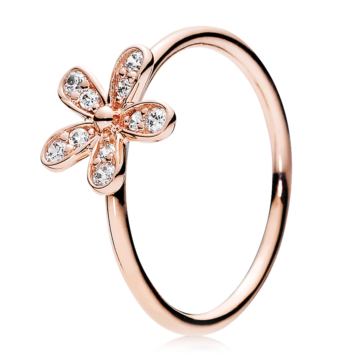 4a2cd962f PANDORA Rose™ Dazzling Daisy with Clear CZ Ring ...