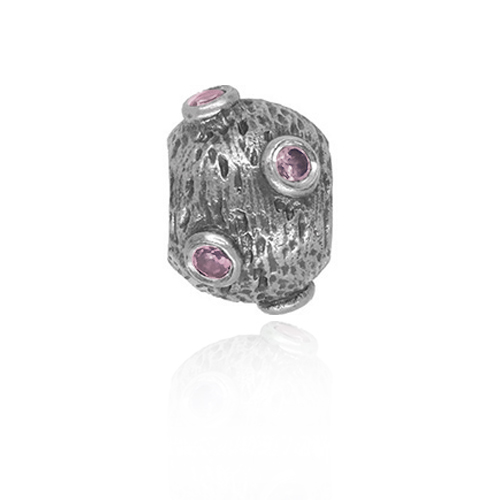 446344826 PANDORA Moon with Pink CZ Charm RETIRED- ONLY 1 LEFT! 790160PCZ