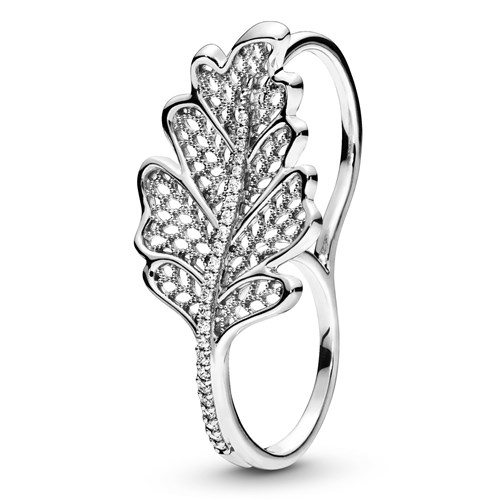 Pandora Oak Leaf Double Ring 198347CZ