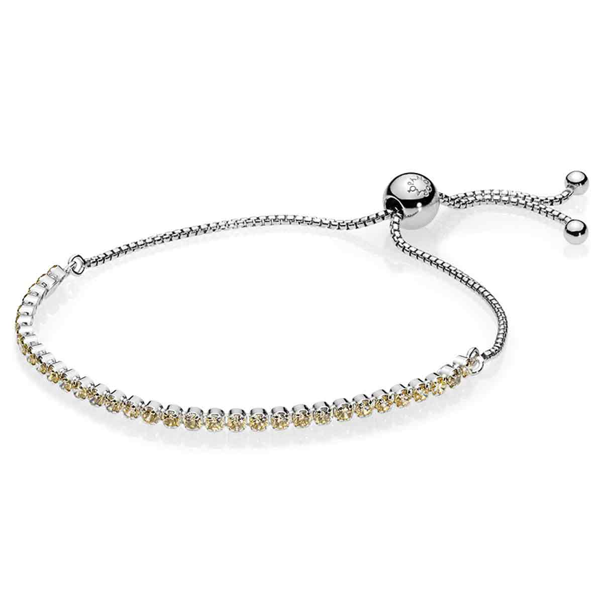 Pandora Golden Sparkling Strand Bracelet 590524ccz