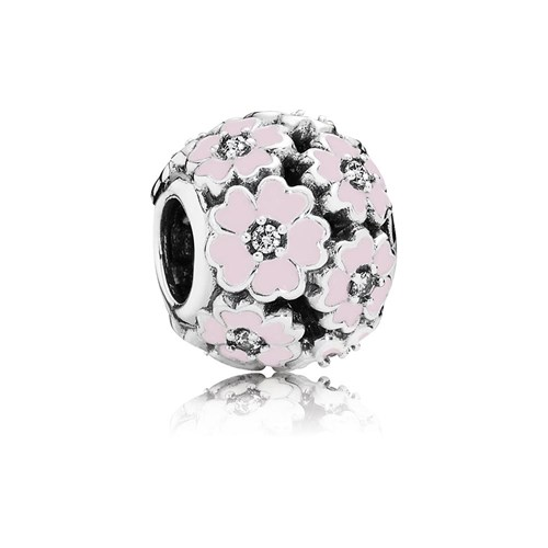 b727c703a PANDORA Primrose Meadow with Pink Enamel Openwork Charm RETIRED! -  Pancharmbracelets.com