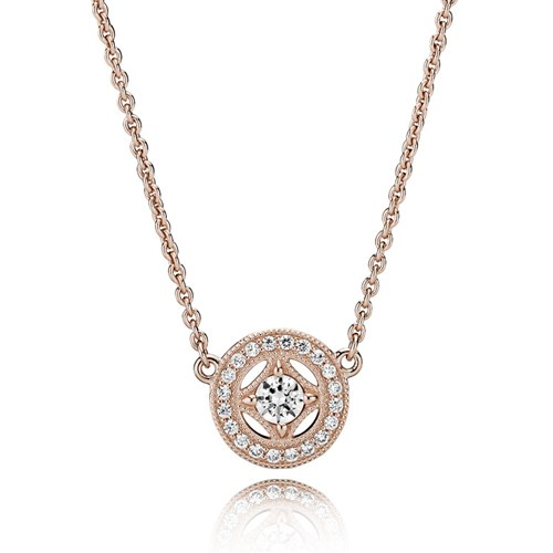 PANDORA Rose™ Vintage Allure Necklace 380523CZ-45