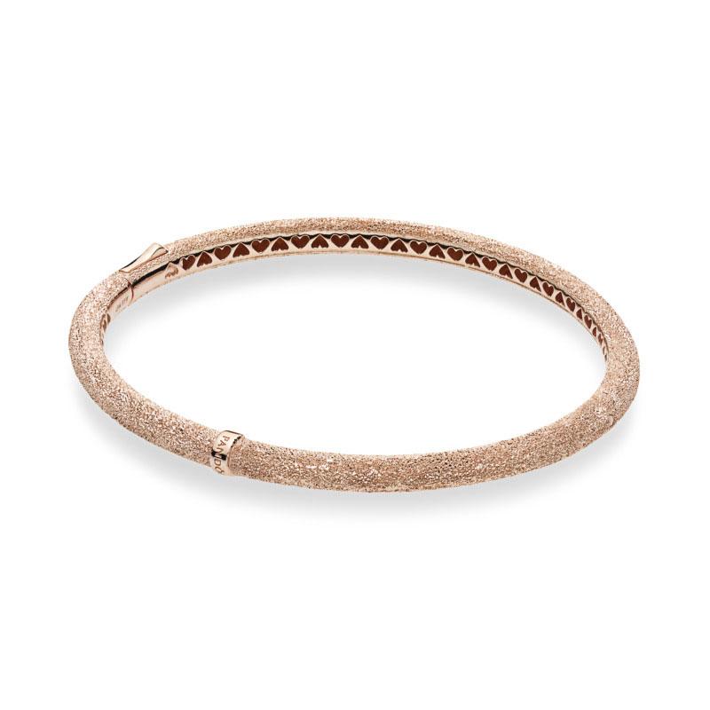 b2fcb0e58 PANDORA Rose™ Matte Brilliance Bangle Bracelet 587915 ...