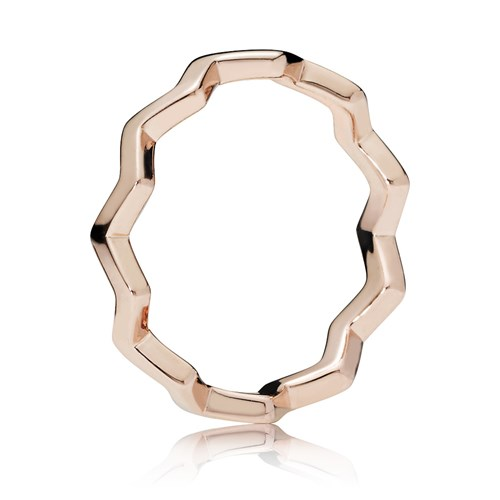 PANDORA Rose™ Timeless Zigzag Ring 187752