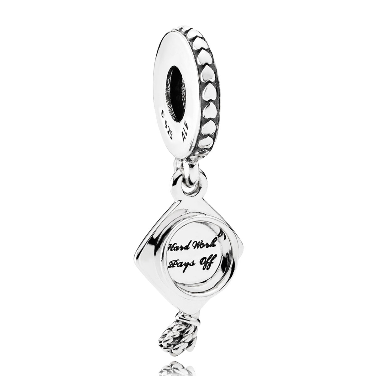 Pandora Graduation Dangle Charm Detail