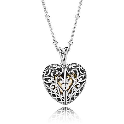PANDORA Shine™ Gate of Love Necklace 367734-60