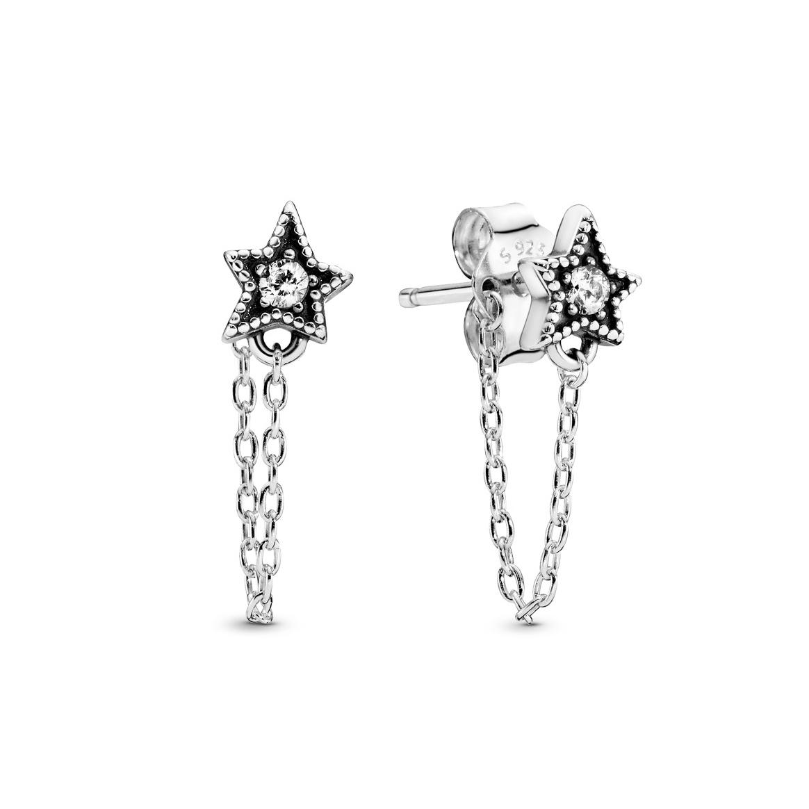 pandora earrings angel wings