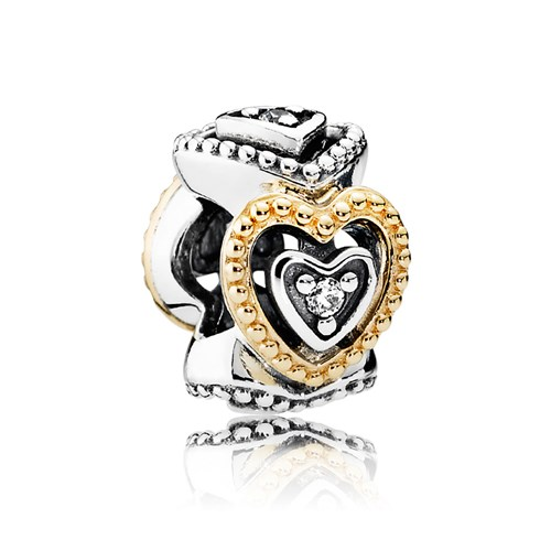 PANDORA Celebration of Love with Clear CZ Spacer